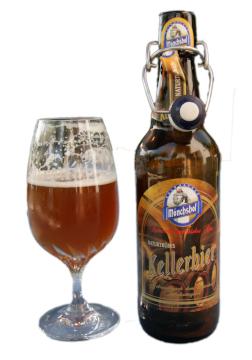 Mönchshof Kellerbier Naturtrübes Alk. 5,4% vol 50cl
