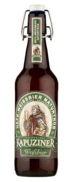 Kapuziner Hefe-Weissbier Naturtrüb Alk. 5,4% vol 50cl