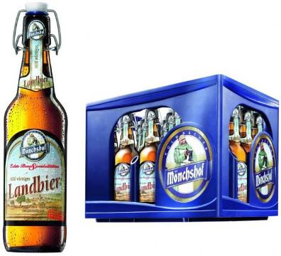 Mönchshof Landbier Hell Alk. 5,4% vol 50cl x 4er