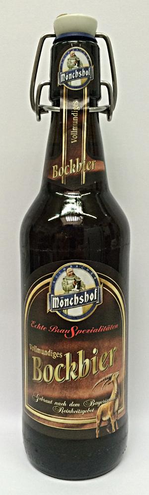 Mönchshof Bockbier 50cl - 6,9% alk