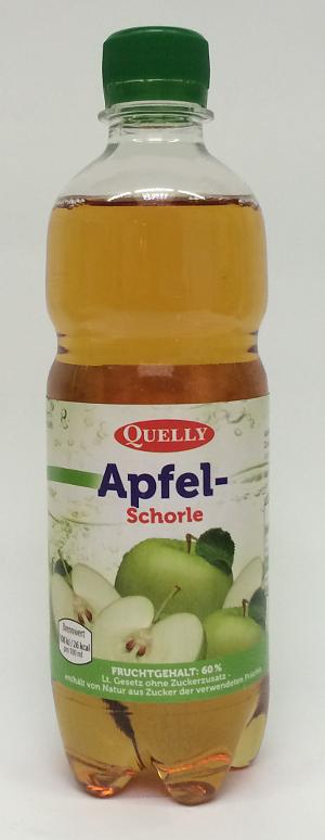 Quelly Apfelschorle 0.5L