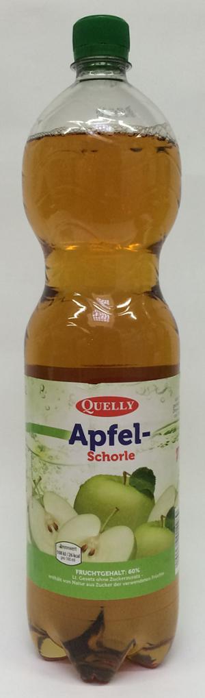 Quelly Apfel-Schorle 1.5 l