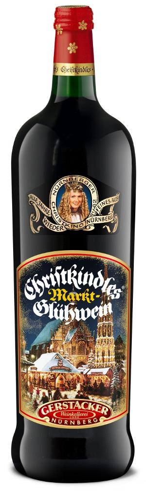1- Gerstacker Nürnberger Christkindles Glühwein 1 liter