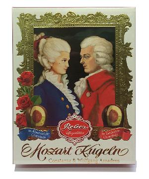 Reber Mozart Kugeln Constanze & Wolfgang 240g für 12 Stück