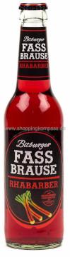 Bitburger Fass Brause Rhabarber Alk. 0,0% 33cl