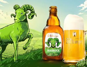Bitburger Maibock Premium Pils Alk. 6,7% vol 33cl