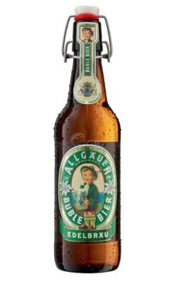 Allgäuer Bübble Bier Alk. 5,5% vol 50cl