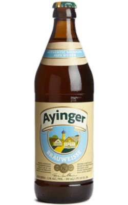 Ayinger Bräuweisse Alk. 5,1% vol 50cl