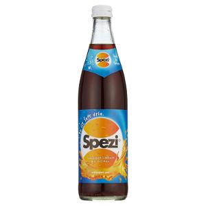 Spezi Cola Orange-Limonade mit Kaffein 50cl