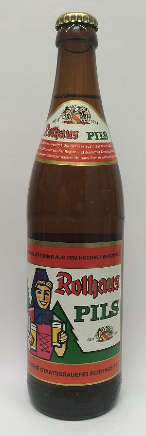 Rothaus Pils 5.1% Alk. 50cl