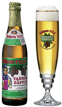 Rothaus Tannenzäpfle Alk. 5,1% vol 33cl