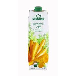 Grünfink Karotten Saft 1L