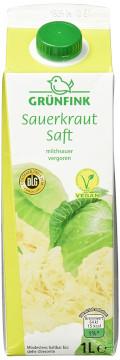 Grünfink Sauerkraut Saft 1000ml