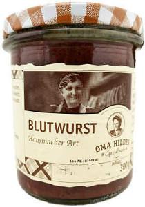 Schaller Oma Hildes Spezialitäten Blutwurst Hausmacher Art 300g