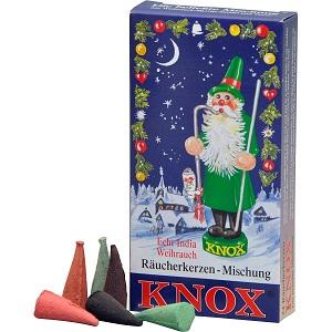 Knox Räucherkerzchen-Mischung 24 Stck