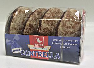 Weiss mini Contrella Lebkuchen (50g)
