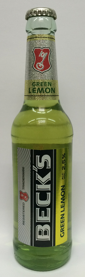 Beck's Green Lemon 33cl - 2.5% alk