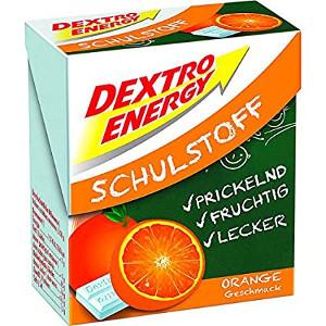 Dextro Energy Schulstoff Orangengeschmack 50g
