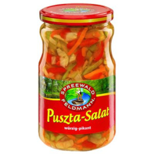 Spreewald-Feldmann Puszta-Salat würzig-pikant 670g