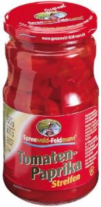 Spreewald-Feldmann Tomaten Paprika Streifen 650g