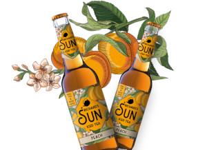 Richards Sun Iced Tea Peach Alk. 0,0% vol 33cl x 6er
