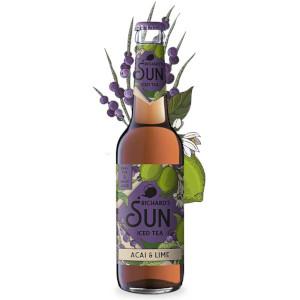 Richards Sun Iced Tea Acai & Lime Alk. 0,0% vol 33cl x 6er
