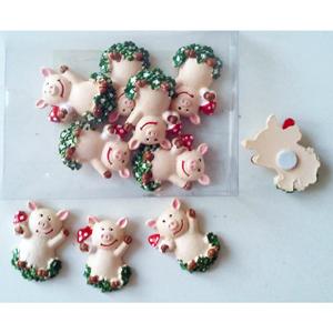 Glücksbringer in Form von Schweinchen (10 Stk.)