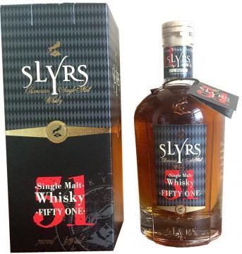 5- Slyrs Bavarian Single Malt Whisky Fifty One Alk. 51% vol 700ml