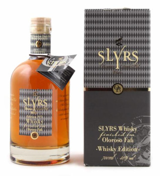 5- Slyrs Bavarian Single Malt Whisky Oloroso Fass Alk. 46% vol 700ml