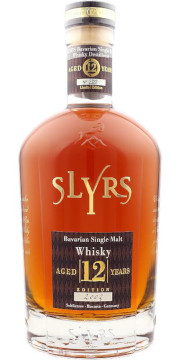 Slyrs Bavarian Single Malt Whisky Aged 12 Years Alk. 43% vol 700ml