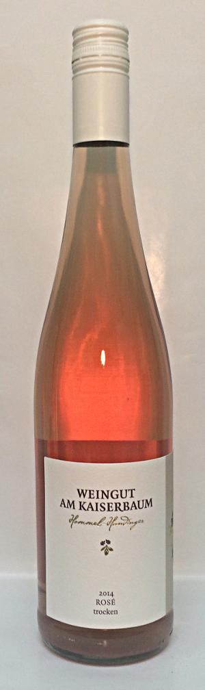 Weingut am Kaiserbaum Rose Trocken 2014 Alk. 12,5% vol 750ml