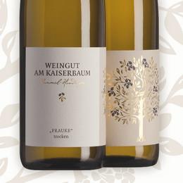 3- Weingut Am Kaiserbaum 2016 Frauke trocken Alk. 12,0% vol 750ml