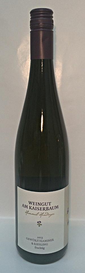 Weingut am Kaiserbaum Gewürztraminer & Riesling 2016 Alk. 11,5% vo