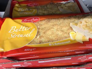 1- Star Cake Butter Streusel (40% Butterstreusel) 400g
