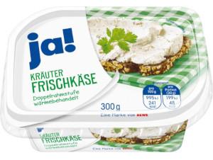 4- Ja! Kräuter Frischkäse 300g
