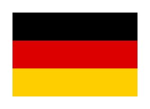 Deutschland Stofffahne 60x90cm