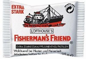 Fisherman's Eukalyptus Menthol Extra Stark 25g