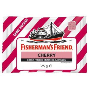 Fisherman's Friend Cherry Extra Frische Menthol-Pastillen 25g