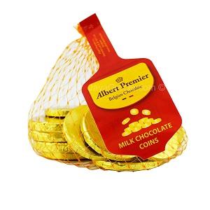 Albert Premier Milk Chocolate Coins 100g