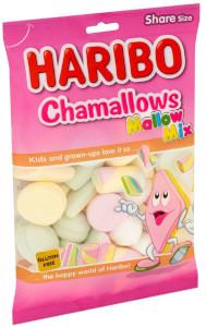 Haribo Chamallows Mallow Mix - Marshmallow Assortment 225g