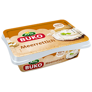 7- Arla Buko Meerrettich 100% Natürliche Zutaten 200g