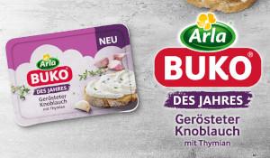 Arla Buko Des Jahres Gerösteter Knoblauch mit Thymian 200g