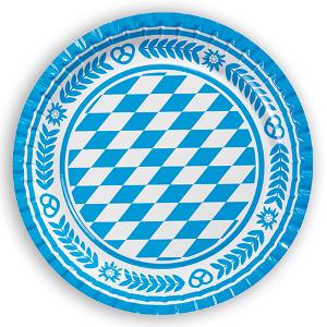 Duni Bayerischer Pappteller (22cm)