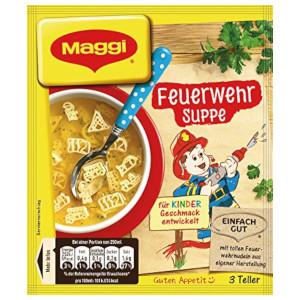 Maggi Feuerwehrsuppe 3 Teller für 750ml