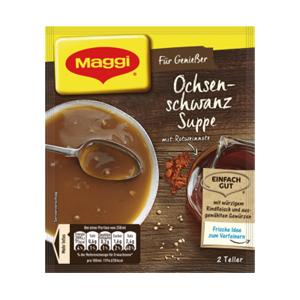 Maggi Ochsenschwanz Suppe (2 Teller)