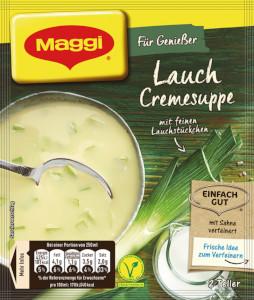 Maggi Für Genießer Lauch Cremesuppe 500ml für 2 Teller