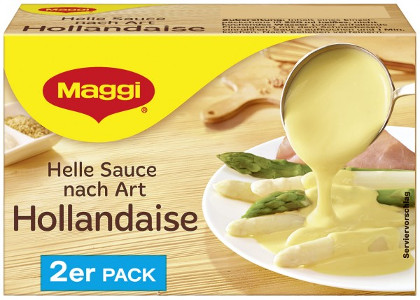 Maggi Helle Sauce nach Art Hollandaise 2er Pack/ 500ml