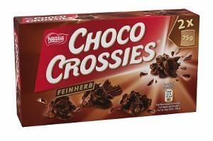 Nestlé Choco Crossies Zartbitter 150g