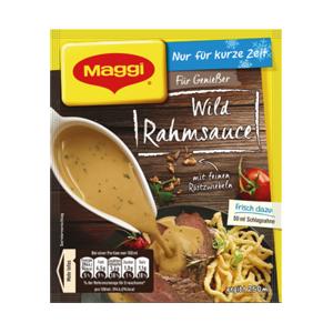 Maggi Wild Rahmsauce (für 250ml Sauce)