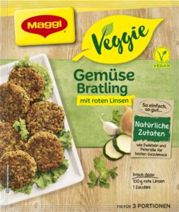 Maggi Veggie Gemüse Bratlinge (3 Portionen)